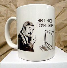 Scotty Hello Computer Star Trek Coffee Mug by sumotees on Etsy, $13.00