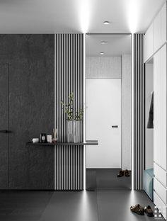 The Home Decor Guru – Interior Design For Bedrooms Luxury Homes Interior, Home Interior Design, Modern Interior, Interior Architecture, Dressing Table Design, Flur Design, Tv Wall Design, Hallway Designs, Entrance Design