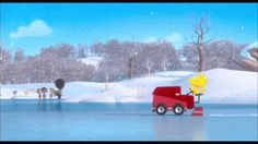 THE PEANUTS MOVIE Clip - Ice Skating (2015) Charlie Brown, Animated Comedy HD