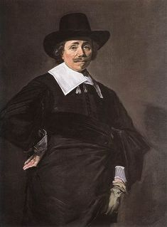 A Dutch Gentleman - Frans Hals.  1643-45.  Oil on canvas.  115 x 86.1 cm.  National Gallery of Scotland, Edinburgh, Scotland.