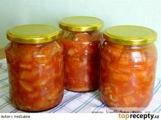 Omáčka z cukety a papriky