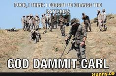 shut the fuck up carl Military Jokes, Army Humor, Army Memes, Funny Texts, Funny Jokes, Funny Shit, Twisted Humor, Sports Humor, Funny People