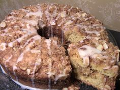 Gluten Free Almond Streusel Coffee Cake