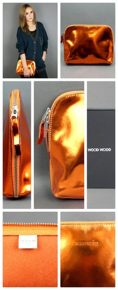 #woodwood #tripurse orange-metallic aw2013 #newin