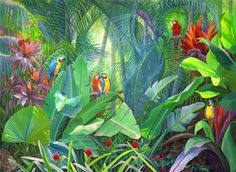 April W. Davis | Artist | Landscape Cityscape Paintings | South Florida