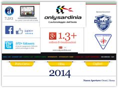 Mini Infografica 2014 • ref: www.only-sardinia.com