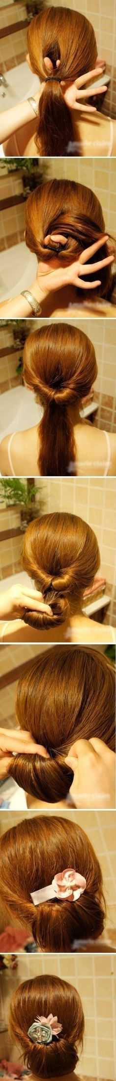 Expert Hair Care Tips For Any Age. Your hair might be your worst enemy, but it does not have to be! You can reclaim your hair with a little research and effort. First, identify your hair typ Five Minute Hairstyles, Quick Hairstyles, Easy Ponytail Hairstyles, Creative Hairstyles, Latest Hairstyles, Hairstyles 2018, Simple Hairstyles For Long Hair, Ballet Hairstyles, Easy Formal Hairstyles