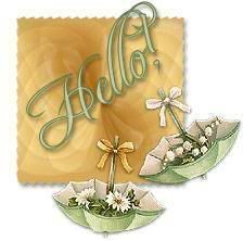 Animated Gif by Barbara_Wyckoff I Thought Of You Today, I Think Of You, Hello Pictures, Welcome Images, Hello It, Hello Welcome, Calming Colors, Good Afternoon, Decoupage Paper