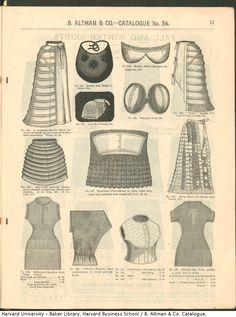 B.Altman & Co. Catálogo Invierno 1886/87..