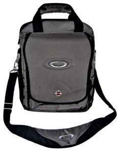 "Oakley Vertical 2.0 Cross Body Tactical 15"" Laptop Messenger Travel Bag Gray  #Oakley #MessengerShoulderBag"