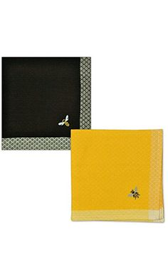 DII Simple Bee Embroidered Napkin Set of 2 Best Price