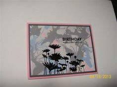 Upsy Daisy Straw Blowing by muscrat - Cards and Paper Crafts at Splitcoaststampers