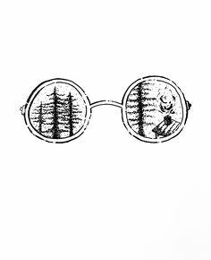 Glasses #glasses #draw #handdraw #blackandwhite #bw  #ViannaV