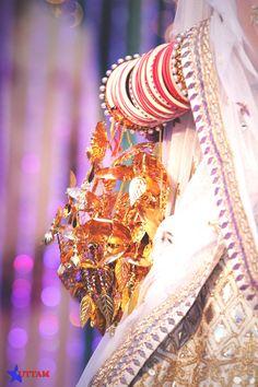 Wedding Kaleere - Gold Kaleere | WedMeGood Every Brides Dream Accessory. The Beautiful Kaleere. Find More Inspirations on wedmegood.com #wedmegood #kaleere