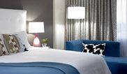 King Bed Deluxe - downtown Tacoma's luxurious King room boasts all the space and amenties you desire.