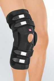 b9dcc6d3d5 The Collamed knee brace prevents hyper-extension and limits the range of  motion with adjustable physioglide hinges. Furthermore the soft brace comes with  a ...