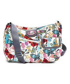 Look what I found on #zulily! Butterfly Paradise Stacey Crossbody Bag #zulilyfinds