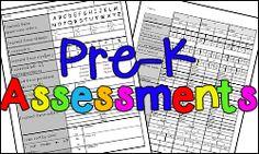 Pre-Kindergarten Assessments