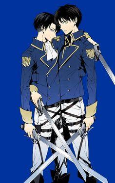 Nyaaaaa, they look damn hot on this uniform