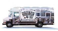 Pretty stellar branding for Brunch Box food truck