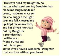 Quotes and inspiration about Love : Love my daughter to pieces… Yes she drives me crazy sometimes (shes just like … Crazy Quotes, Top Quotes, Funny Quotes, Daily Quotes, I Love My Daughter, My Love, Thing 1, Love Quotes With Images, Cheer Me Up