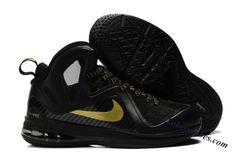 35eff51a67b Nike Lebron 9 P.S. Elite Black Gold Lebron 11
