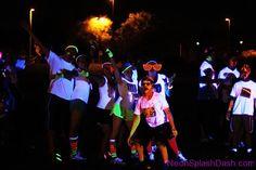 www.NeonSplashDash.com - Crazy Fun 5k Run! The MOST FUN you can have in the Dark!