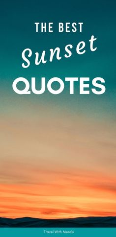 Find the best quotes about sunset. Perfect for instagram captions and more #sunset #sunsetcaptions #sunsetquotes #quoteaboutsunset Sunset Quotes Instagram, Sunset Captions For Instagram, Family Vacation Quotes, Family Quotes, Meaningful Quotes, Inspirational Quotes, Journey Quotes, Best Sunset, Amazing Sunsets