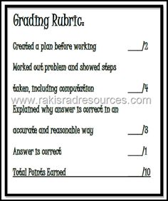 Give More Feedback and Less Grades - Rubrics are Better Than Grades. They give students more information about how to improve instead of giving them a way to compare themselves to others. Opinion from Raki's Rad Resources.