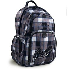 Roots 73 Deluxe Backpack [Grey Plaid]