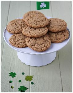 Irish Triple Threat Cookies - Irish steel-cut oats, Irish whiskey & Irish butter!