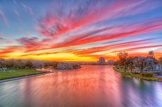 Foster City Sunset, California