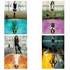 The hex hall series by Rachel Hawkins #TeenReadWeek #PenguinTeen