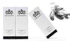 gessato, italy.  brand packaging