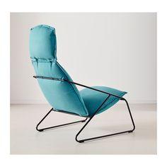 VILLSTAD Fauteuil haut IKEA La mousse haute résilience offre un exellent confort pendant de longues années.