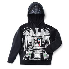 AVON LIVING STAR WARS DARTH VADER HOODED SWEATSHIRT: Out of this world! Become Darth Vader with this sweatshirt. You can find this & more in #AvonOutlet at www.youravon.com/jantunes