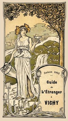 Art-Guide Vichy 1902 - Thermes Callou