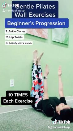 Part 4 Weak pelvic floor abs and Core pilates flow progression using the wall for support for Abs and Core Workout . Do you want to learn more fro learn the PRINTING technique during this exercise to keep pelvic floor engage Click the link and watch the new video How to strengthen your core muscles effectively if you have back pain #coreworkout #abs #pilates #pilatesflow #corestrength #flatstomach #fitness #fitnessmotivation #fitnesstips