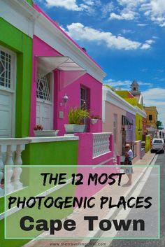 The 12 most photogenic places in Cape Town South Africa *********************************Where to take the best photos in Cape Town South Africa | Instagram-worthy places in Cape Town | Instagrammable places in Cape Town | Instagram | South Africa | Bo-Kaap | Bokaap | Cape Malay