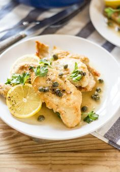 chicken piccata | The Clever Carrot