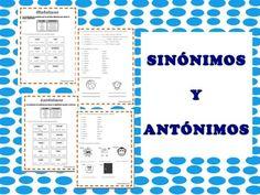 El estudiante aprenderá la diferencia entre sinónimos y antónimos.