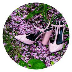 Zara Pink Court Shoe »