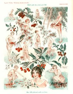 'La Vie Parisienne,  1920s' by Advertising Archives on artflakes.com as poster or art print $17.33