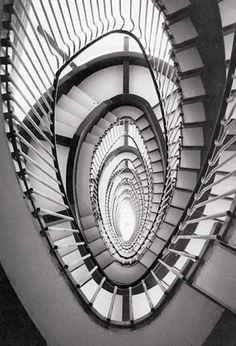 Franco Albini - Le scale della Rinascente di Roma