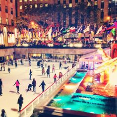 It's beginning to look a lot like Christmas in Rockefeller Center. Photo courtesy of dpnieves on Instagram.