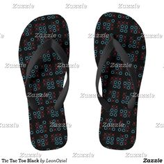 Shop Tic Tac Toe Black Flip Flops created by LeonOziel. Black Flip Flops, Tic Tac, Flip Flop Sandals, Christmas Holiday, Black Sandals, Toe, Gift Ideas, Decorating, Easy