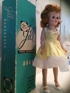 Vintage Vogue Jill Doll with Original Box |
