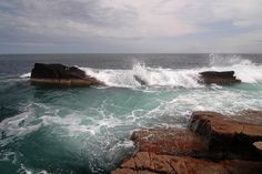 Waves at Acadia National Park by HoodPhotos on Etsy, $11.95