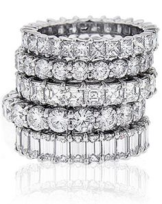 I love eternity bands!