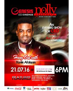 It's Today people!!! Nolly Thursdays and you already know who is going to be in town....Kunle Afolayan. The Brain behind #TheCEO movie is going to be @MarylandMallng Today!!! Come and join us. #Movie #Fun #Cinemas #ProudlyNigerian #Nigerian #GenesisCinemas #Family #Nollywood